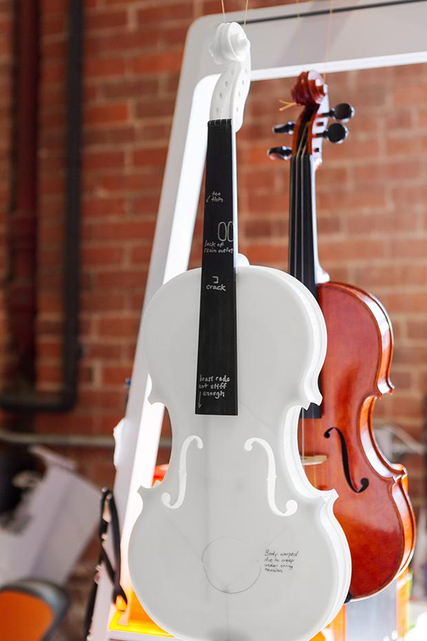 Brian Chan's violin design