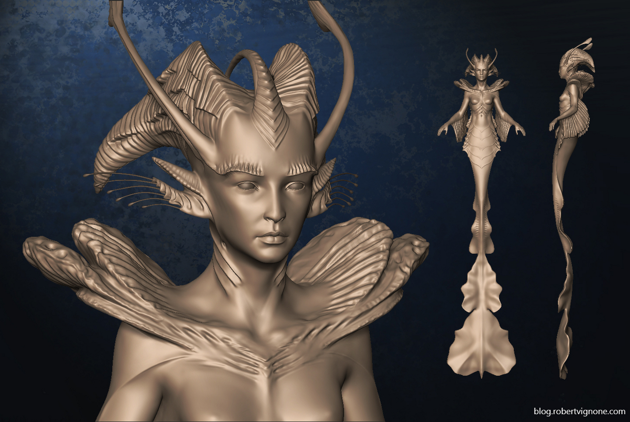 Meriel sculpt by Robert Vignone