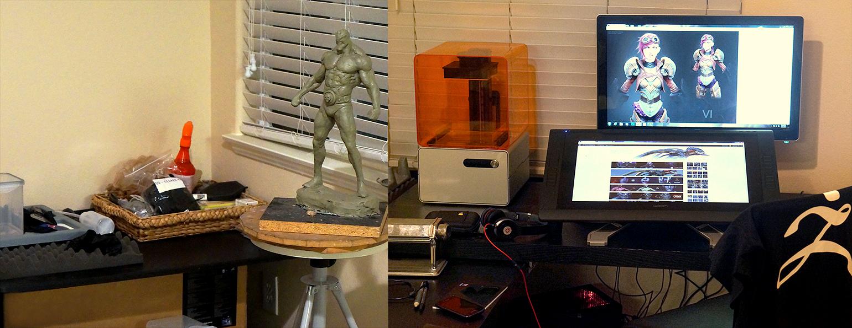 Rafael's Form 1 3D Printer