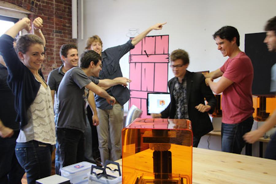 Formlabs Kickstarter celebration